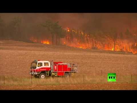 صوت الإمارات - حرائق أسـتراليا تهدد المناطق السـكانية