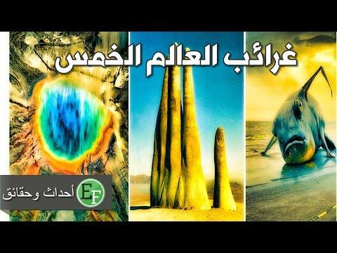 صوت الإمارات - شاهد غرائب العالم الخمس التي لا يوجد لها تفسير إلى الآن