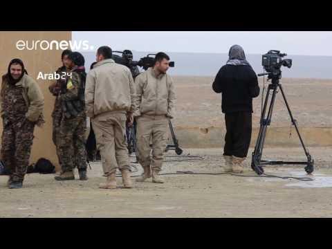 صوت الإمارات - قوات سورية الديمقراطية تعلن مقتل 124 من عناصر داعش