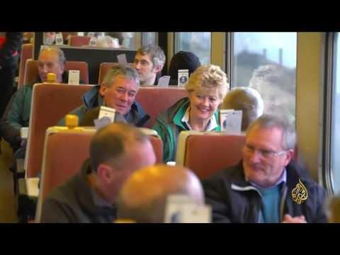 صوت الإمارات - بالفيديو  قطار البخار يعود إلى الخدمة في بريطانيا