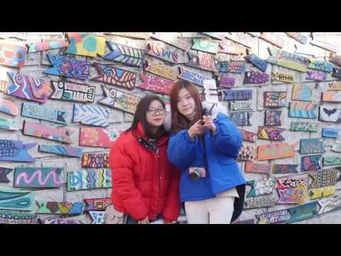 صوت الإمارات - شاهد القرية الملونة في كوريا الجنوبية معرض مفتوح للفن