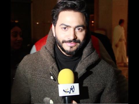 صوت الإمارات - شاهد لحظة وصول الفنان تامر حسني إلى فندق الموفنبيك في مدينة طنجة