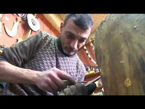 صوت الإمارات - بالفيديو  صناعة الخناجر حرفة تقاوم الاندثار في الأردن