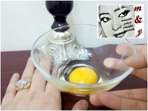 صوت الإمارات - بالفيديو حافظي على نعومة وإطالة شعرك ببيضة واحدة