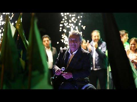 صوت الإمارات - شاهد اليساري لينين مورينو مُتقدِّم على منافسه لاصُو في انتخابات الإكوادور