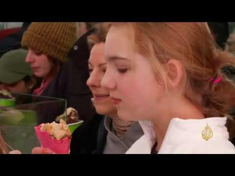 صوت الإمارات - بالفيديو  مثلجات لذيذة ومميّزة تناسب فصل الشتاء