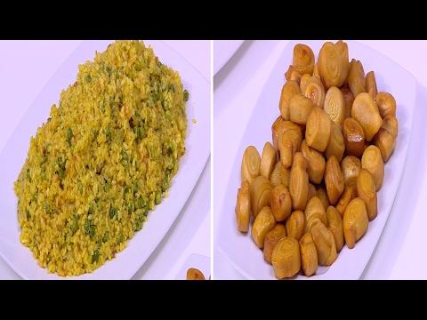 صوت الإمارات - بالفيديو طريقة إعداد ومقادير كفتة بالزيتون  أرز بالكاري  كرات بطاطس