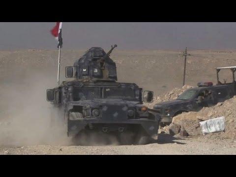 صوت الإمارات - شاهد القوات العراقية تستعد لاقتحام مطار الموصل