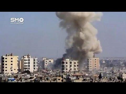 صوت الإمارات - بالفيديو  تفجيرات مدينة حمص تخيم على محادثات جنيف