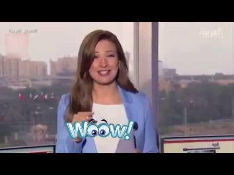 صوت الإمارات - شاهدضحك هيستيري لمذيعة العربية