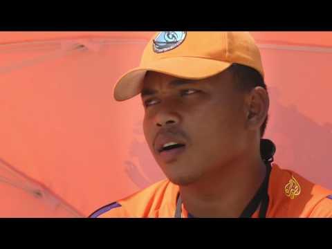 صوت الإمارات - السلطات تنشر فرق إنقاذ على شواطئ كمبوديا