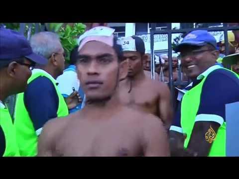 صوت الإمارات - انطلاق مهرجان السباحة المفتوحة في سريلانكا
