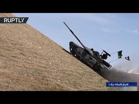 صوت الإمارات - بالفيديو دبابة كرار متطوّرة من صنع إيراني وطني