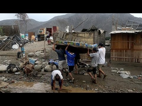 صوت الإمارات - شاهد الفيضانات الشديدة تجتاح بيرو