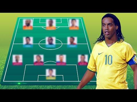 صوت الإمارات - بالفيديو رونالدينيو يختار أفضل تشكيلة مكونة من 11 لاعبًا في تاريخ دوري أبطال أوروبا