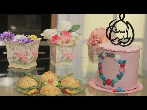 صوت الإمارات - شاهد طريقة إعداد ميني بيف ويلنغتون  وتورتة عيد الأم
