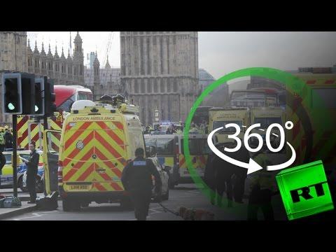 صوت الإمارات - شاهد موقع هجوم لندن بتقنية 360 درجة