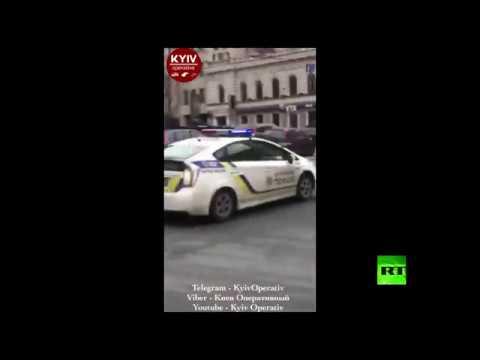 صوت الإمارات - شاهد اللقطات الأولى لموقع اغتيال نائب روسي سابق وسط كييف