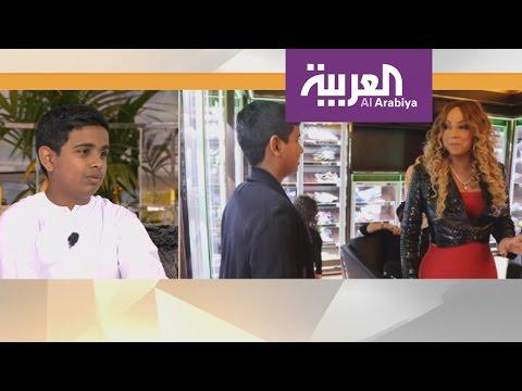 صوت الإمارات - شاهد راشد بالحصا مراهق إماراتي اشتهر باستضافته النجوم واستعراض ثرائه