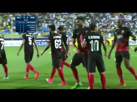 شاهد ملخص مباراة الأهلي والتعاون