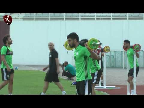 صوت الإمارات - شاهد تدريب العنابي الرئيسي