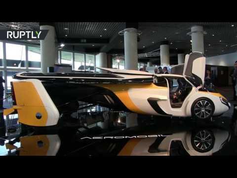 صوت الإمارات - بالفيديو سيارة طائرة بمليون دولار تحتاج إلى مدرج للاقلاع