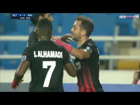 شاهد أهداف مباراة النادي الأهلي ونظيره التعاون السعودي
