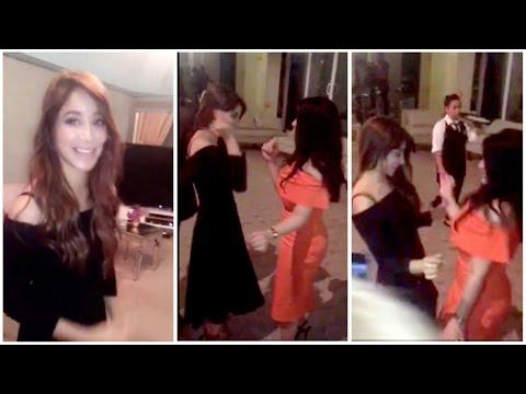 صوت الإمارات - بالفيديو أسيل عمران تشعل عيد ميلاد صديقتها بوصلة رقص مميّزة