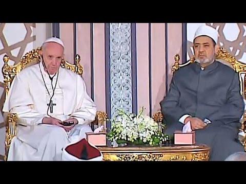 صوت الإمارات - بالفيديو البابا فرنسيس في زيارة وِحدة وأخوة في مصر