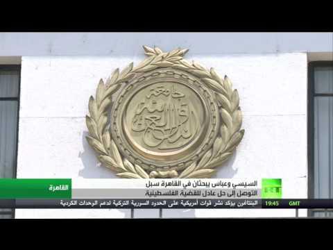 صوت الإمارات - شاهد لقاء عباس والسيسي في القاهرة