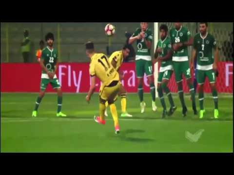 شاهد أهداف مباراه الوصل والشباب 21
