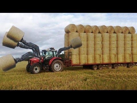 صوت الإمارات - شاهد  أضخم الألات الزراعية تعمل بطريقة مختلفة