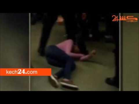 صوت الإمارات - شاهد لقطات مروعة لمدرس يٌعذب تلميذة داخل الفصل في مراكش