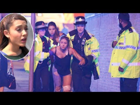 صوت الإمارات - الصدمة تكسو وجه أريانا غراندي بعد انفجار مانشستر