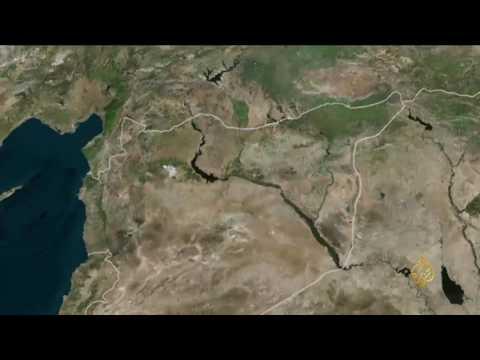 صوت الإمارات - شاهد موجة نزوح واسعة من الرقة