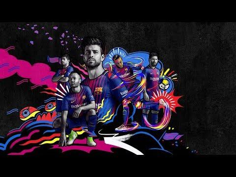 صوت الإمارات - شاهد برومو نجوم برشلونة يظهرهم بقميص الموسم الجديد