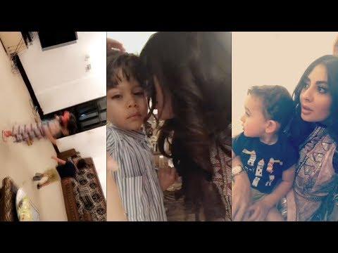 صوت الإمارات - شاهد طفل يضع مريم حسين في موقف محرج