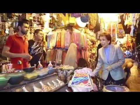 صوت الإمارات - بالفيديو  الأميرة بسمة بنت طلال في جولة وسط عمَّان