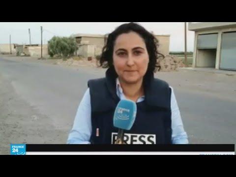 صوت الإمارات - شاهد قوات سورية الديمقراطية تتقدم ببطء داخل الرقة