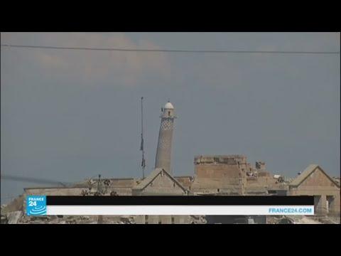 صوت الإمارات - شاهد القوات العراقية وصلت على بعد 50 مترًا من جامع النوري