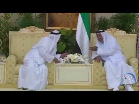 صوت الإمارات - شاهد الشيخ خليفة بن زايد يستقبل الحكام بمناسبة عيد الفطر 2017
