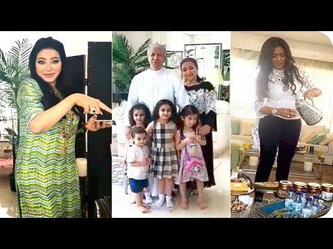 صوت الإمارات - شاهد أجواء رائعة من داخل بيت لجين وأسيل عمران مع الفنانة وعد