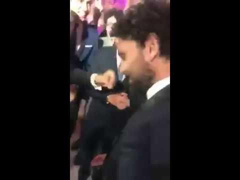 صوت الإمارات - شاهد حسام غالي يشعل فرح رمضان صبحي وحبيبة اكرامي بالرقص