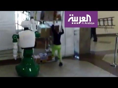 صوت الإمارات - شاهد انتشار صور لروبوت ينقذ طفلة من حادث مروّع