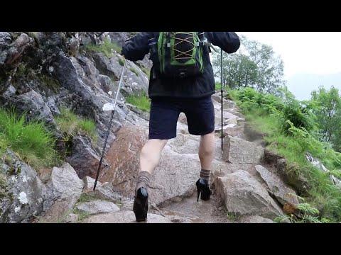صوت الإمارات - شاهد طالب بريطاني يتسلّق الجبال بالكعب العالي