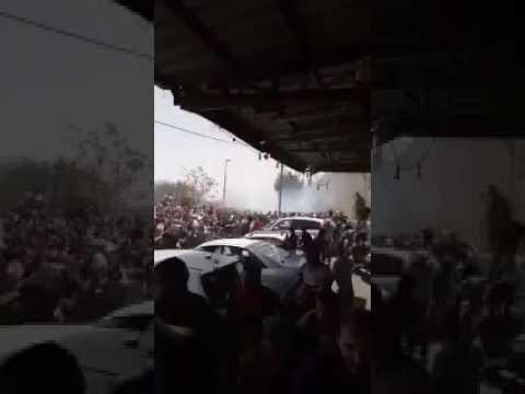 صوت الإمارات - شاهد الاحتلال الإسرائيلي يقمع المرابطين الغاضبين في الشوارع
