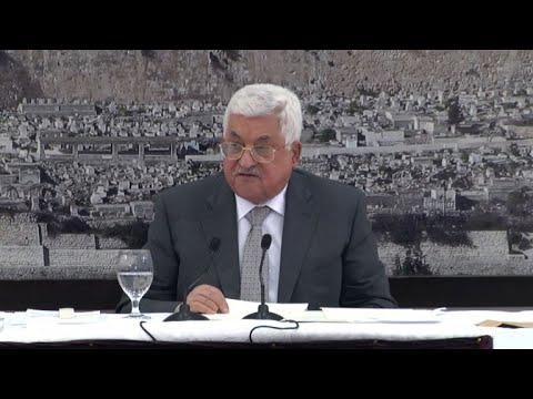 صوت الإمارات - شاهد الرئيس عباس يعلن تجميد الاتصالات مع إسرائيل