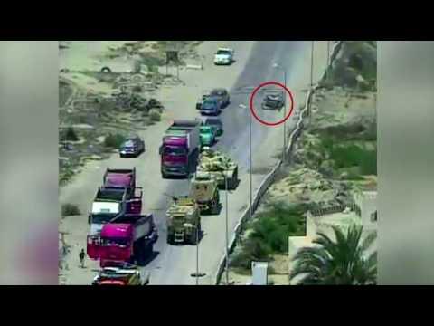 صوت الإمارات - شاهد القوات المسلحة المصرية تحبط محاولة لاستهداف أحد الإرتكازات الأمنية