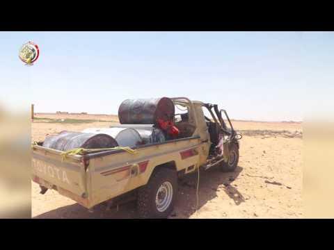 صوت الإمارات - القوات المسلحة المصرية تحبط محاولة إرهابية
