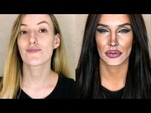 صوت الإمارات - فتاة تحول نفسها لأنجلينا جولي في دقائق